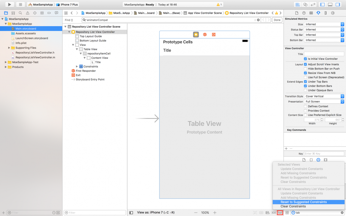 MOE tutorial 1: Create simple list on iOS and Android apps using